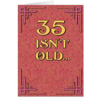 35古くないですがありません カード
