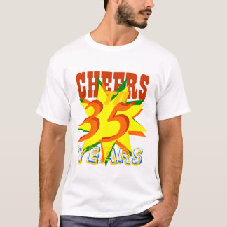 35年への応援 Tシャツ