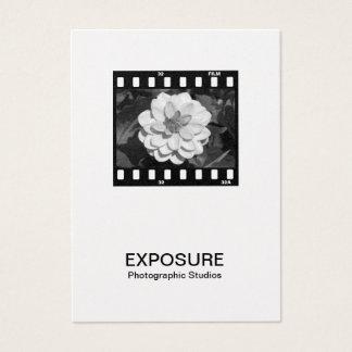 35mmのフィルムのこま01 (金ゴールド) 名刺