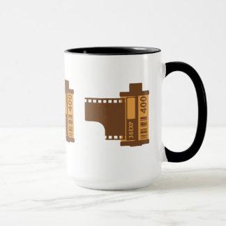 35mmのフィルムのアナログのデザイン マグカップ