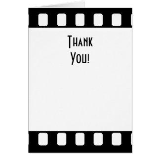 35mmのフィルムは感謝していしています カード