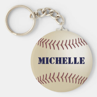 369MyNameによるミシェールの野球Keychain キーホルダー
