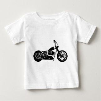 374のチョッパーのバイク ベビーTシャツ