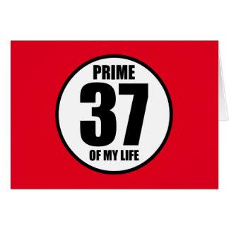37 -私の生命の全盛 カード