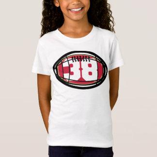 38人の幼児の素晴らしいジャージーのTシャツ無し Tシャツ