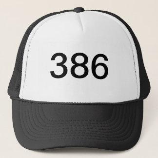 386帽子 キャップ