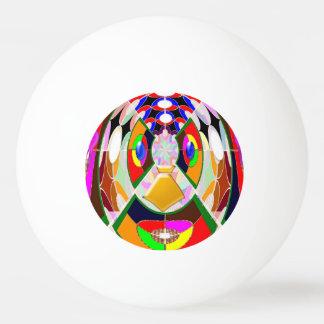 3*卓球のピンポン球の創造的な芸術NavinJOSHI 卓球 玉