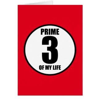 3 -私の生命の全盛 カード