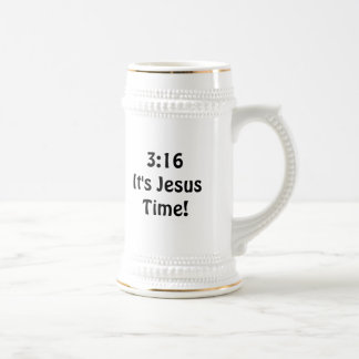3:16イエス・キリストの時間 ビールジョッキ