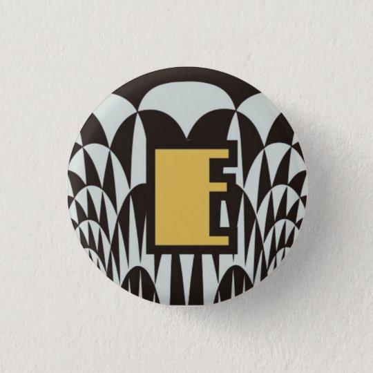 3.2cm Can batch [Art Deco] 3.2cm 丸型バッジ