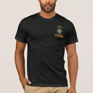 3/5th騎兵隊M113の運転者の前部及び背部ワイシャツ Tシャツ