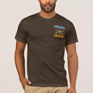 3/5th騎兵隊M113 CIBのうなり声のワイシャツ Tシャツ