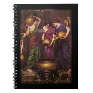 3 Danaidesの満ちる大がま ノートブック