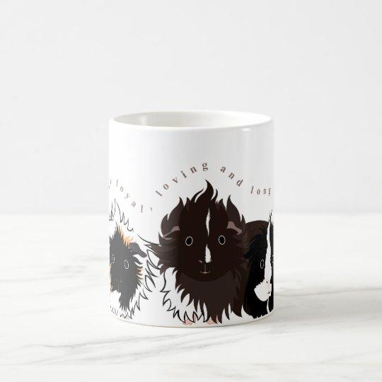 3 long haired piggies コーヒーマグカップ