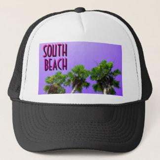 ~3 Palms~の南ビーチのトラック運転手の帽子 キャップ