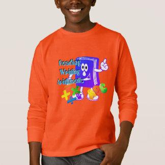 3 Rs学生のワイシャツ Tシャツ
