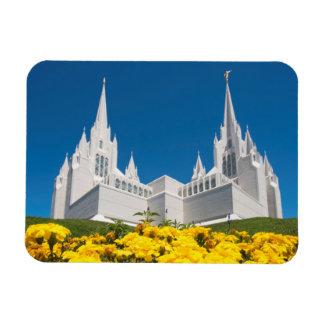 """3"""" x4""""写真の磁石のサンディエゴの寺院 マグネット"""