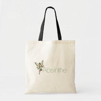 3Dのアブサンの緑の妖精 トートバッグ