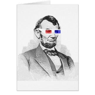 3Dのリンカーン! カード