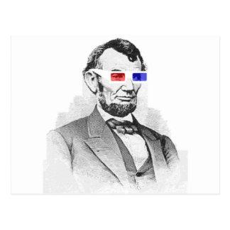 3Dのリンカーン! ポストカード
