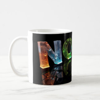 3Dの一流のノアはつきます(写真) コーヒーマグカップ
