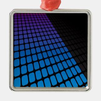 3Dは格子レイアウトを平方します メタルオーナメント