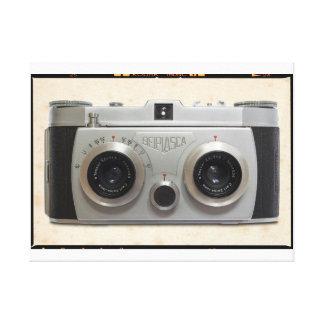 3Dクラシックのカメラ キャンバスプリント