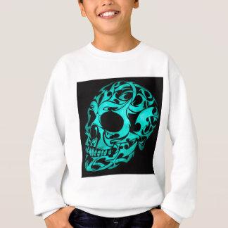 3Dゴシック様式スカル スウェットシャツ
