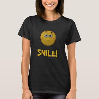 3Dスタイルのスマイリー Tシャツ