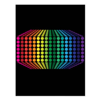 3Dスペクトル ポストカード