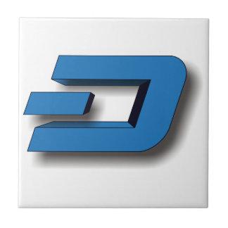 3Dダッシュのロゴ タイル