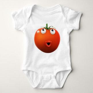 3dトマトの驚き! (どの色Uでも好みます) ベビーボディスーツ