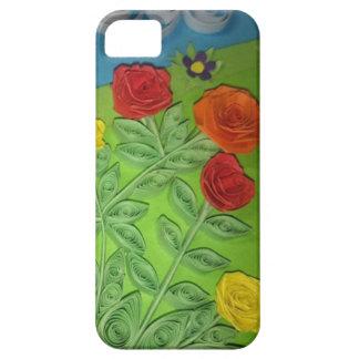 3Dバラ iPhone SE/5/5s ケース
