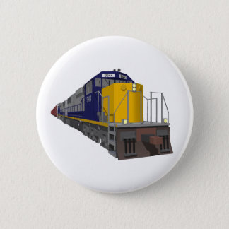 3Dモデル: 貨物列車: 鉄道: 5.7CM 丸型バッジ