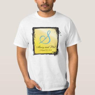 3dモノグラムレモン tシャツ