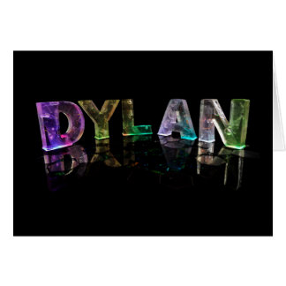 3Dライトの一流のディラン(写真) カード