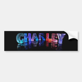 3Dライトの一流のCharley バンパーステッカー