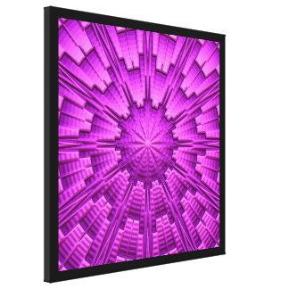 3D抽象美術3 キャンバスプリント