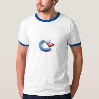 3D提督のロゴ Tシャツ
