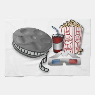 3D映画館 キッチンタオル