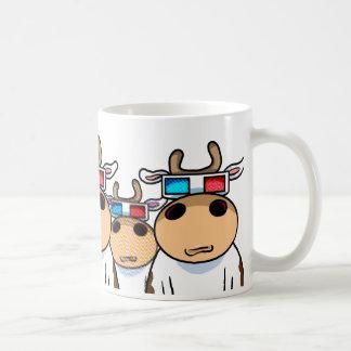 3d牛 コーヒーマグカップ