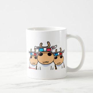 3D牛specs コーヒーマグカップ