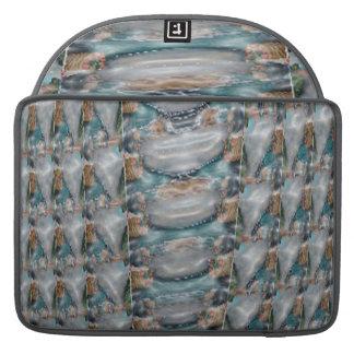 3d真珠の宝石のコレクション MacBook proスリーブ