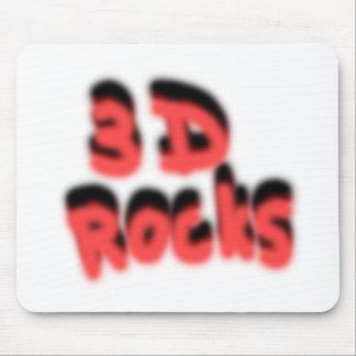 3D石! マウスパッド