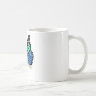 3D蝶 コーヒーマグカップ