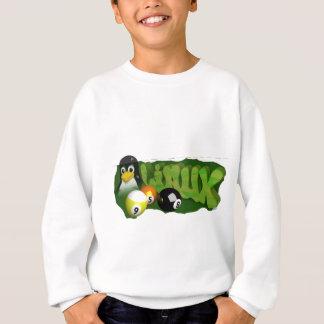 3D LINUXの玉突の玉 スウェットシャツ