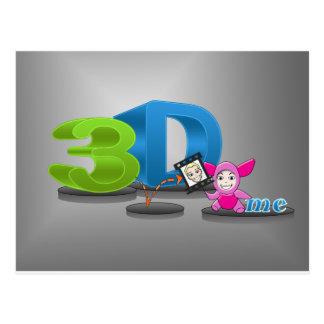 3D ME.png ポストカード