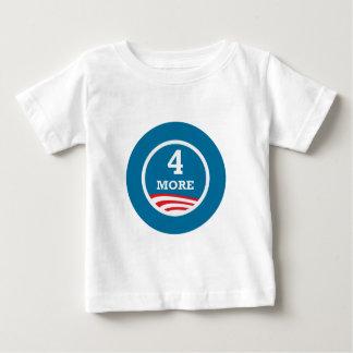 4つのより多くの年オバマ2012年 ベビーTシャツ