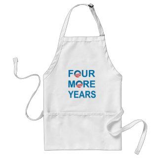 4つのより多くの年-バラック・オバマ2012年 スタンダードエプロン