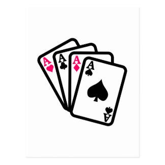 4つのエース ポストカード